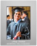 Anodized Aluminum Picture Frame-Gray Photo Gift Items